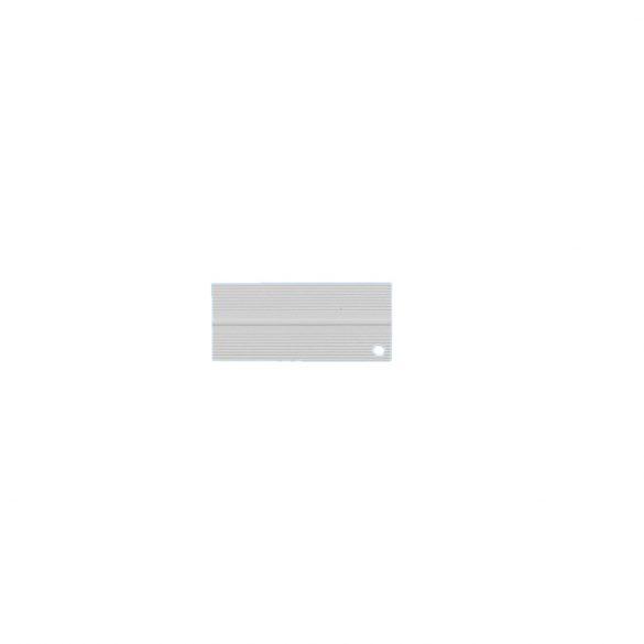 1. Hajlítható takaróprofil 15/15 mm (30 mm) - fehér