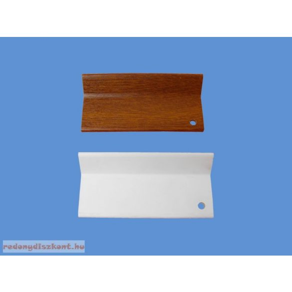 L alakú takaróprofil 40/40 mm - fehér
