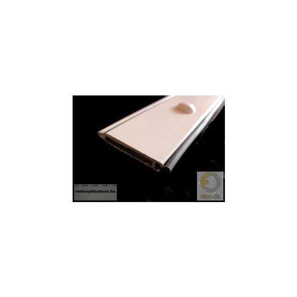 3. Záróléc (alumínium, gumihengerrel)-  fehér
