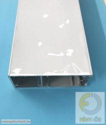 Alumínium lefutó 35*95 mm-es, 77 mm-es redőnyléchez - fehér