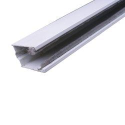 Maxi lefutó, kamra nélküli (alumínium, kefés)  fehér