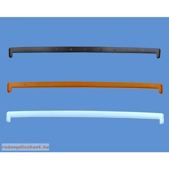 3. Műanyag ablakpárkány, beltéri, fóliás, 250mm (antracit)