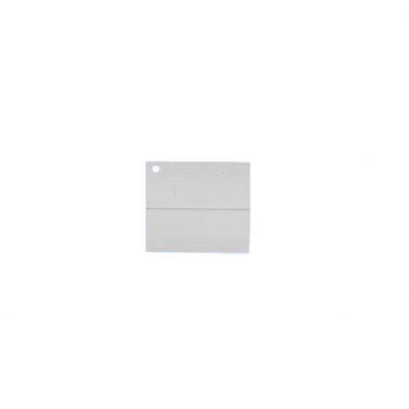 91. Hajlítható takaróprofil 50/50 mm (100 mm) - fehér