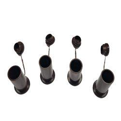 Ütköző (külső) 4 db-os szett - barna