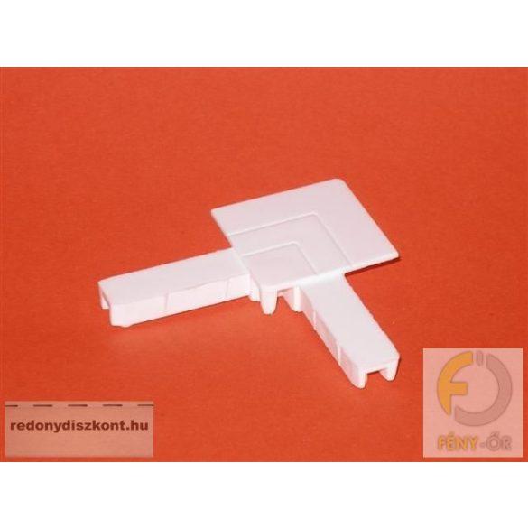 8. Szúnyogháló sarok elem (peremes aluhoz)- fehér