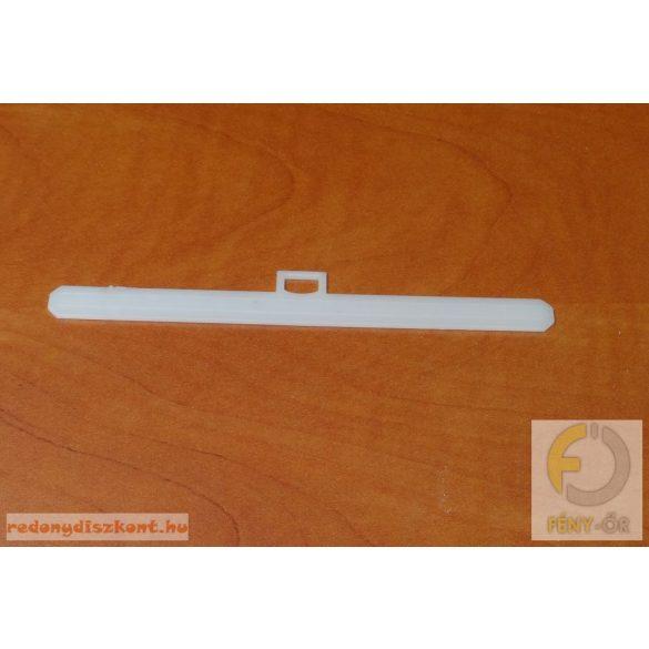 1. Szalagfüggöny lamella tartó vállfa (normál akasztóval)