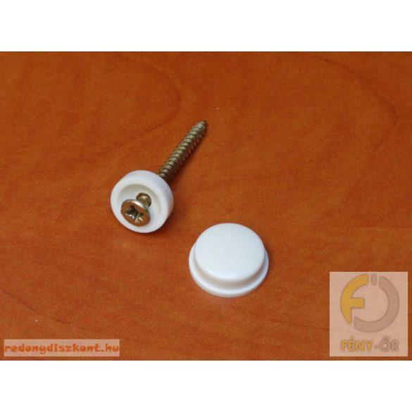 Tükörgomb (hagyományos) - barna