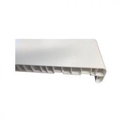 Ablakpárkány (műanyag) 150 mm - fehér