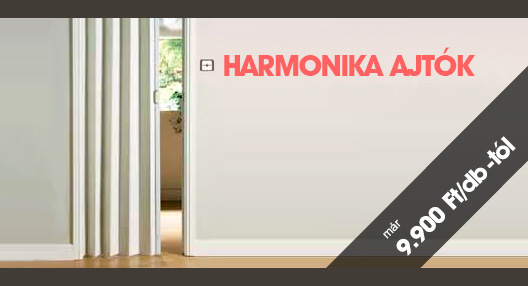 Harmonika ajtók